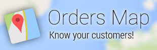 Orders Map - Shopify App